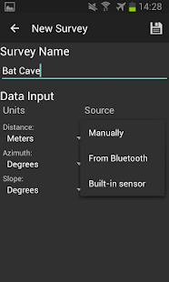 CaveSurvey Screenshot