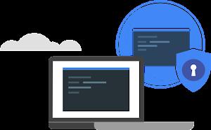 Logotipo de enmascara tus datos de forma automática para desbloquear la nube de forma segura
