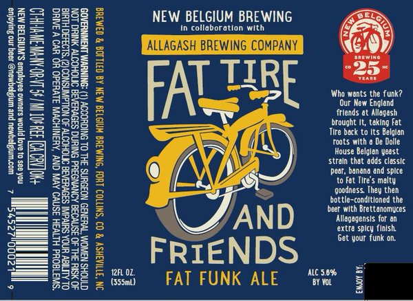 Logo of Fat Tire & Friends Fat Funk Ale