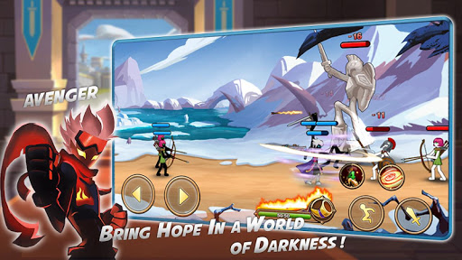 Stickman Legend - Ninja Warriors: Kingdom War 1.0 screenshots 6