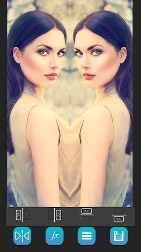 брашинг зеркальное отражение фото айфон русые