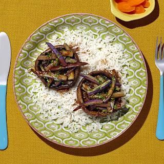 Vegan Eggplant Stir Fry Recipes.