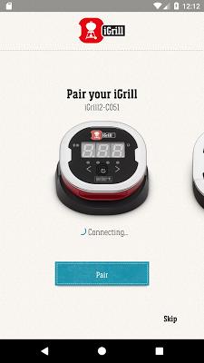 Weber® iGrill® - screenshot