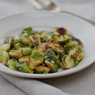Smoky Brussels Sprouts and Onion