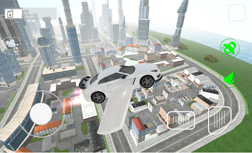 Flying Car Sim 2.4 Cheat screenshots 5