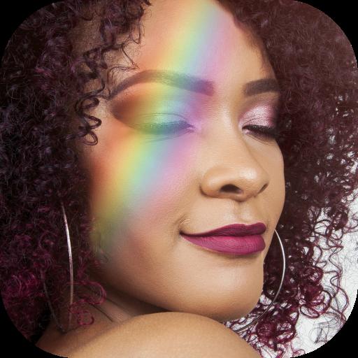 Rainbow Camera Effect Photo Editor Icon