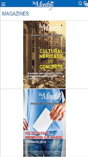 Monthly Magazine - náhled