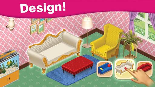 Home Cafe : Mansion Design - Match Blast 3.7 screenshots 2