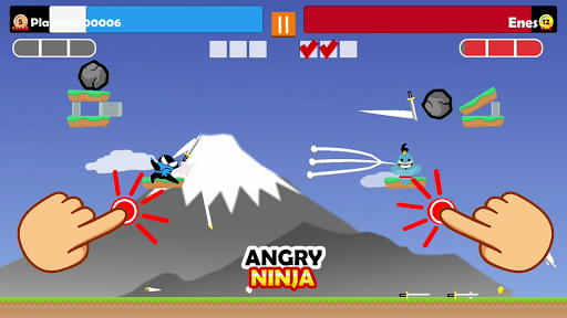 Jumping Ninja Party 2 Player Games apkpoly screenshots 4