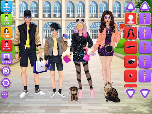 Superstar Family - Celebrity Fashion screenshots 5