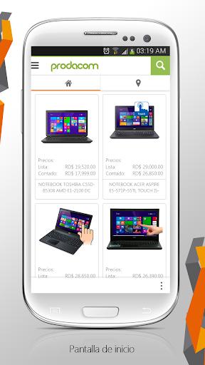 Prodacom App