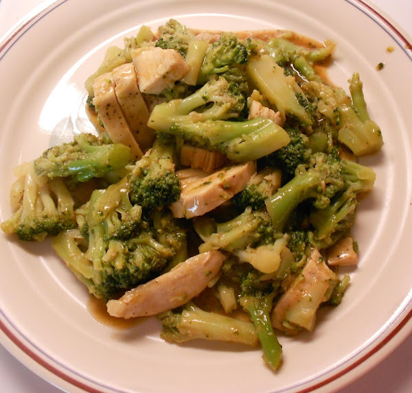 Chinese Chicken And Broccoli Recipe