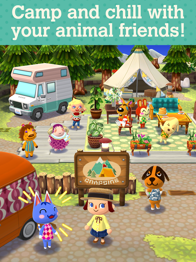 Animal crossing pocket camp android apps on google play for Animals decoration games