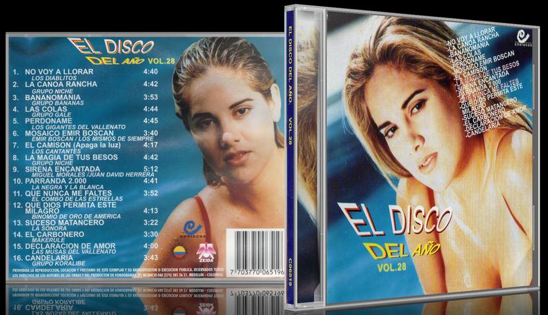 Varios Artistas - El Disco Del Año Vol. 28 (1996) [MP3 @320 Kbps]