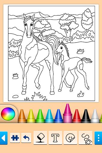 Girls games: Painting and coloring screenshots 1