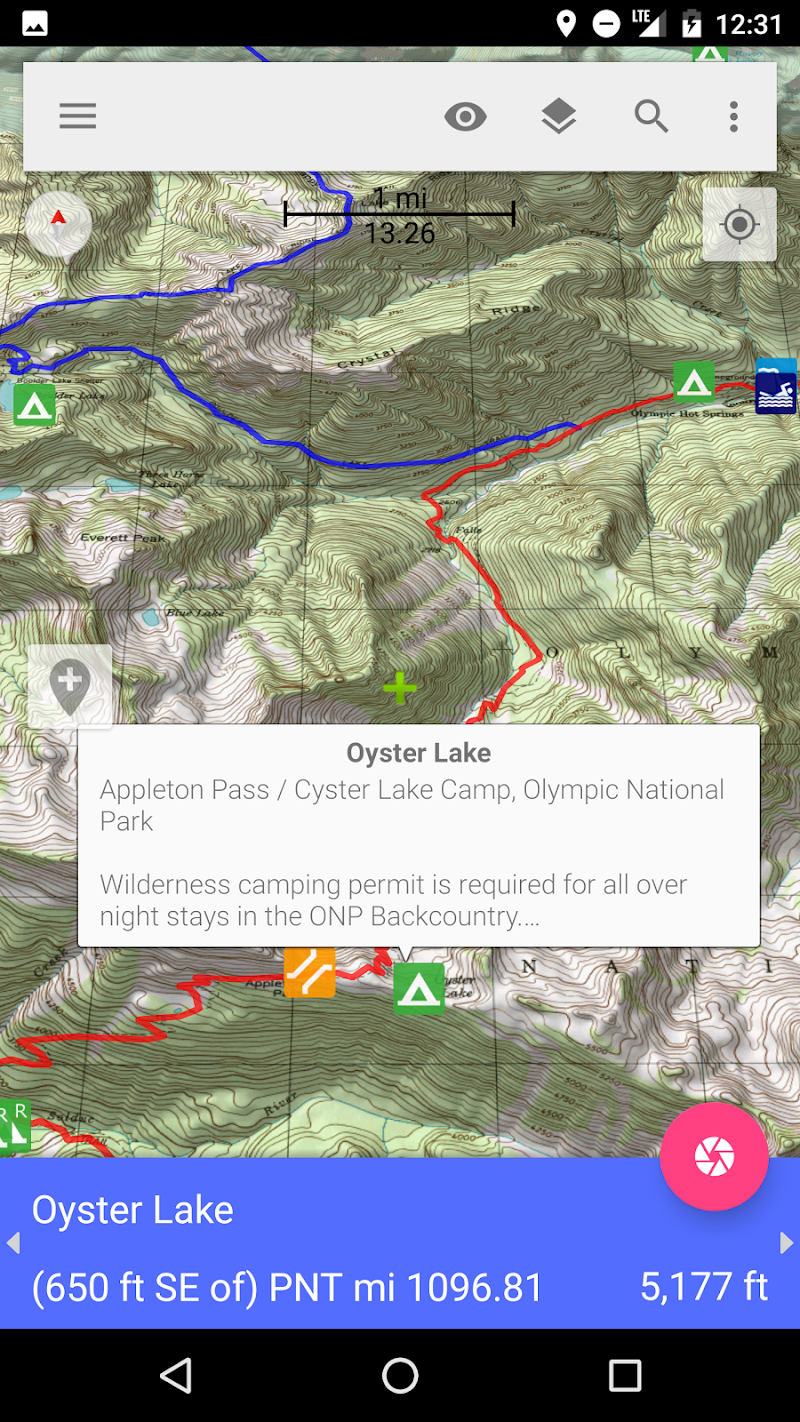 Скриншот Pacific Northwest Trail