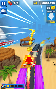 Sonic Christmas Dash: 3D Santa Subway Surf Game ? - náhled