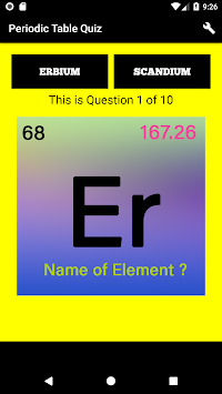 Download periodic table quiz chemistry elements 2018 apk latest periodic table quiz chemistry elements 2018 poster urtaz Gallery