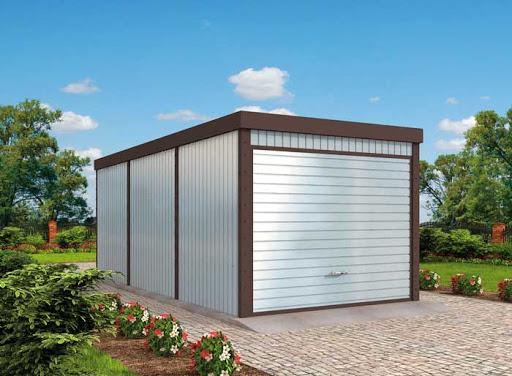 projekt GB50 Garaż Blaszany