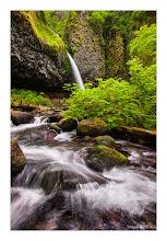 Photo: Ponytail Falls, Columbia River Gorge, Oregon