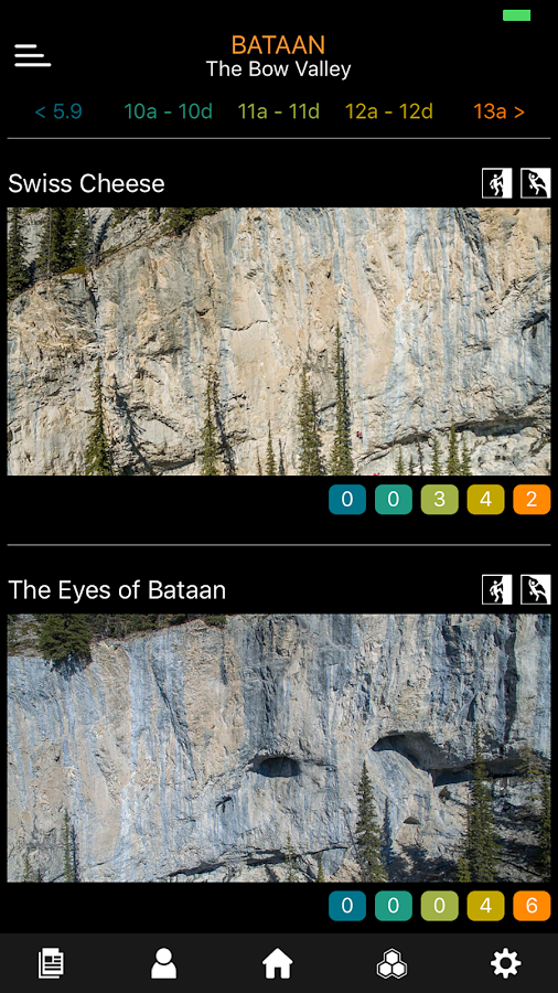 Sloper Outdoor Rock Climbing Guide Beta- screenshot