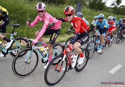 """Dagje afzien voor Giro-Belgen: """"Een verschroeiende rit"""""""