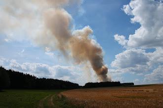 Photo: Požár pole