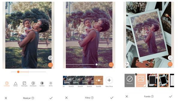 O filtro perfeito para fotos com mães