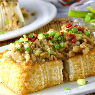 Tofu With Minced Pork.