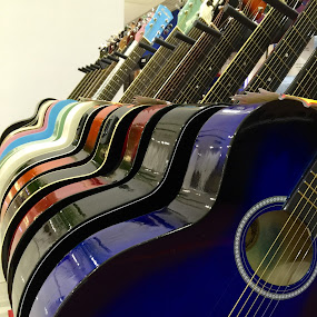 just guitars by Mary Yeo - Artistic Objects Musical Instruments (  )