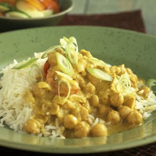 Mild Chickpea Curry