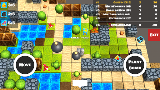 Bomber Arena: Bombing with Friends screenshot 3