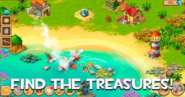 Screenshot of Island Experiment