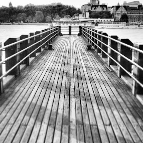Shadows on the Pier by Conor MacNeill - Instagram & Mobile Instagram