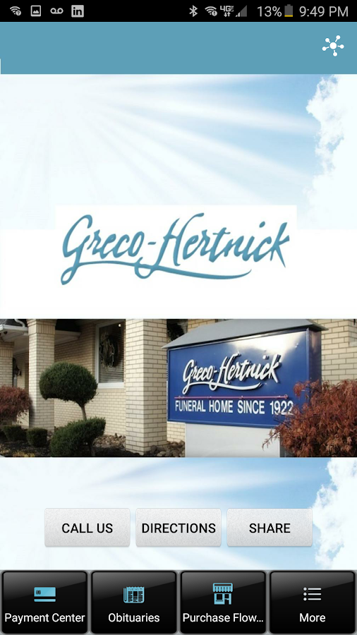Greco Funeral Homes- screenshot