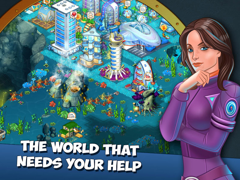 Aquapolis. Free city building! Screenshot 13
