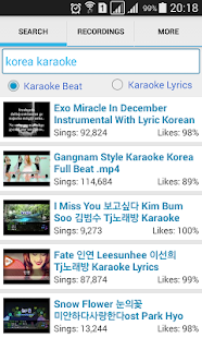 Simple Karaoke Record- screenshot thumbnail