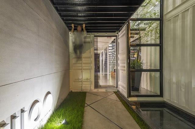 Desain Kantor Kontainer - Rodrigo Kirck Arquitetura-10