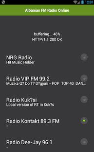 Albánský FM Radio Online - náhled