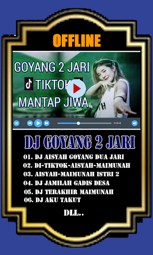 DJ Aisyah Goyang Dua Jari Offline 1.0 screenshots 2