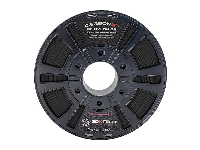 3DXTech CarbonX Carbon Fiber NYLON Filament - 2.85mm (0.75kg)