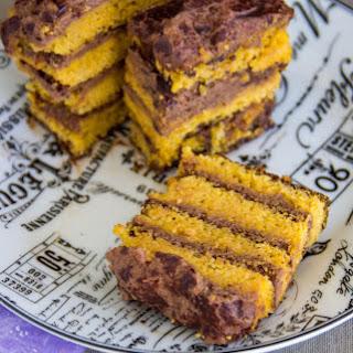 Rustic Orange Opera Cake {vegan + Gluten-free}.