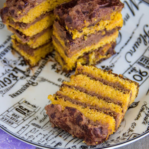 Vegan Orange Polenta Cake Gluten Free