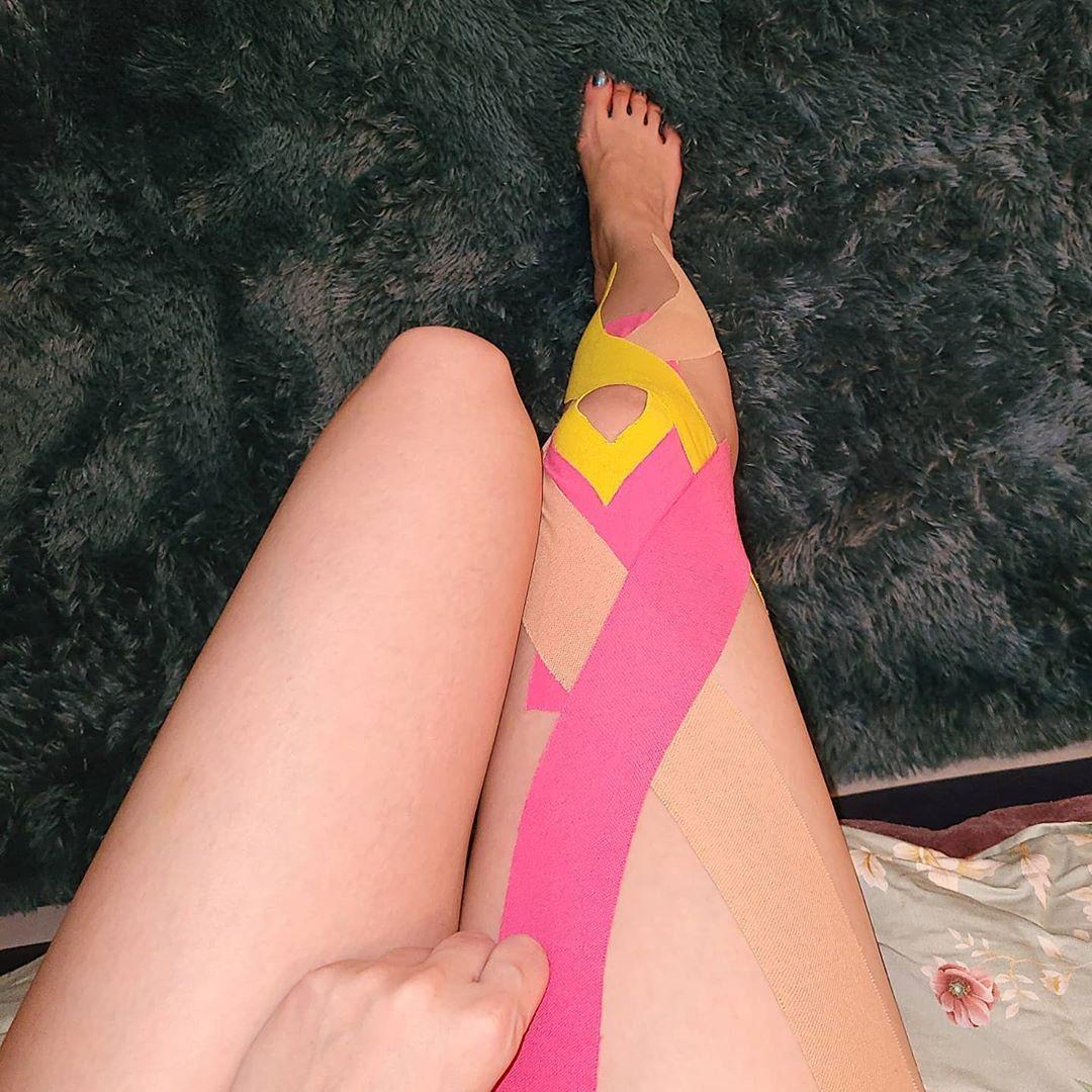 Sunmi IG knee