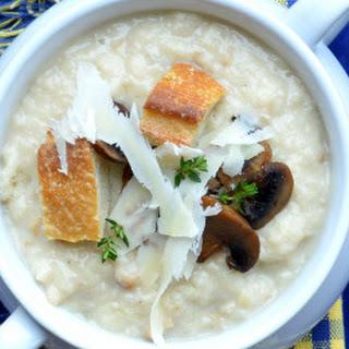 Roasted Garlic Bread Soup