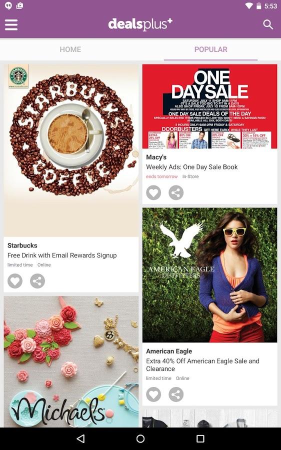 Coupons App & Weekly Ads- screenshot