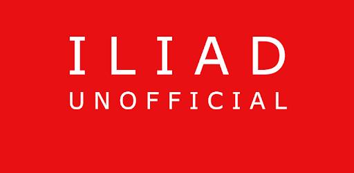 Iliad unofficial app