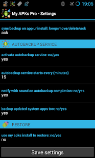 My APKs Pro backup manage apps- screenshot thumbnail