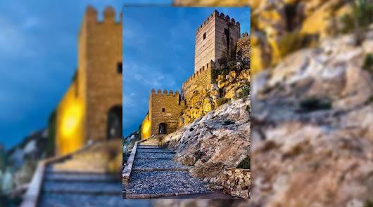 El castillo medieval de la Alcazaba