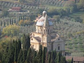 Photo: San Biagio church below Montepulciano